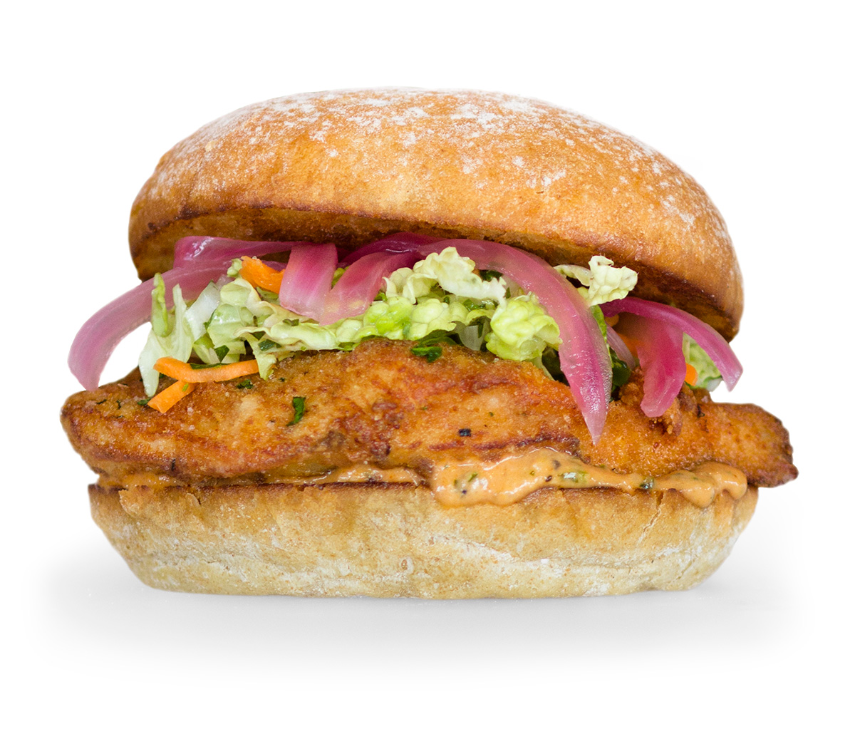 Crispy Chicken Sandwich, Available for a Limited Time at all Burger Lounge locations