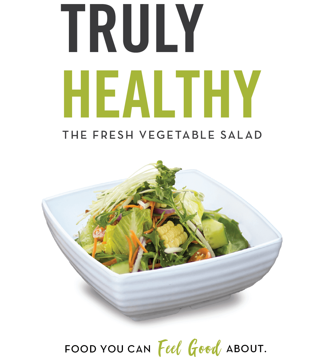 The Fresh Vegetable Salad