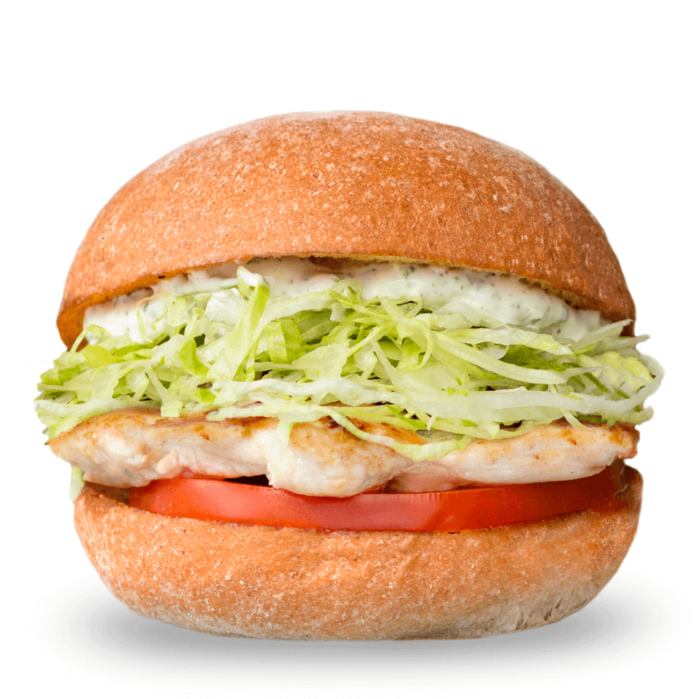 Gluten-Free Grilled Chicken Sandwich