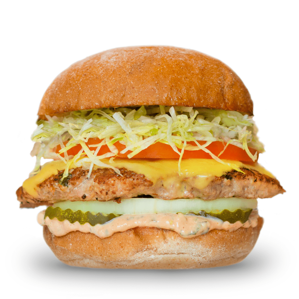 Free-Range Turkey Burger