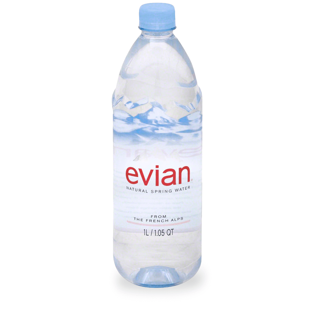 Evian Bottled Water