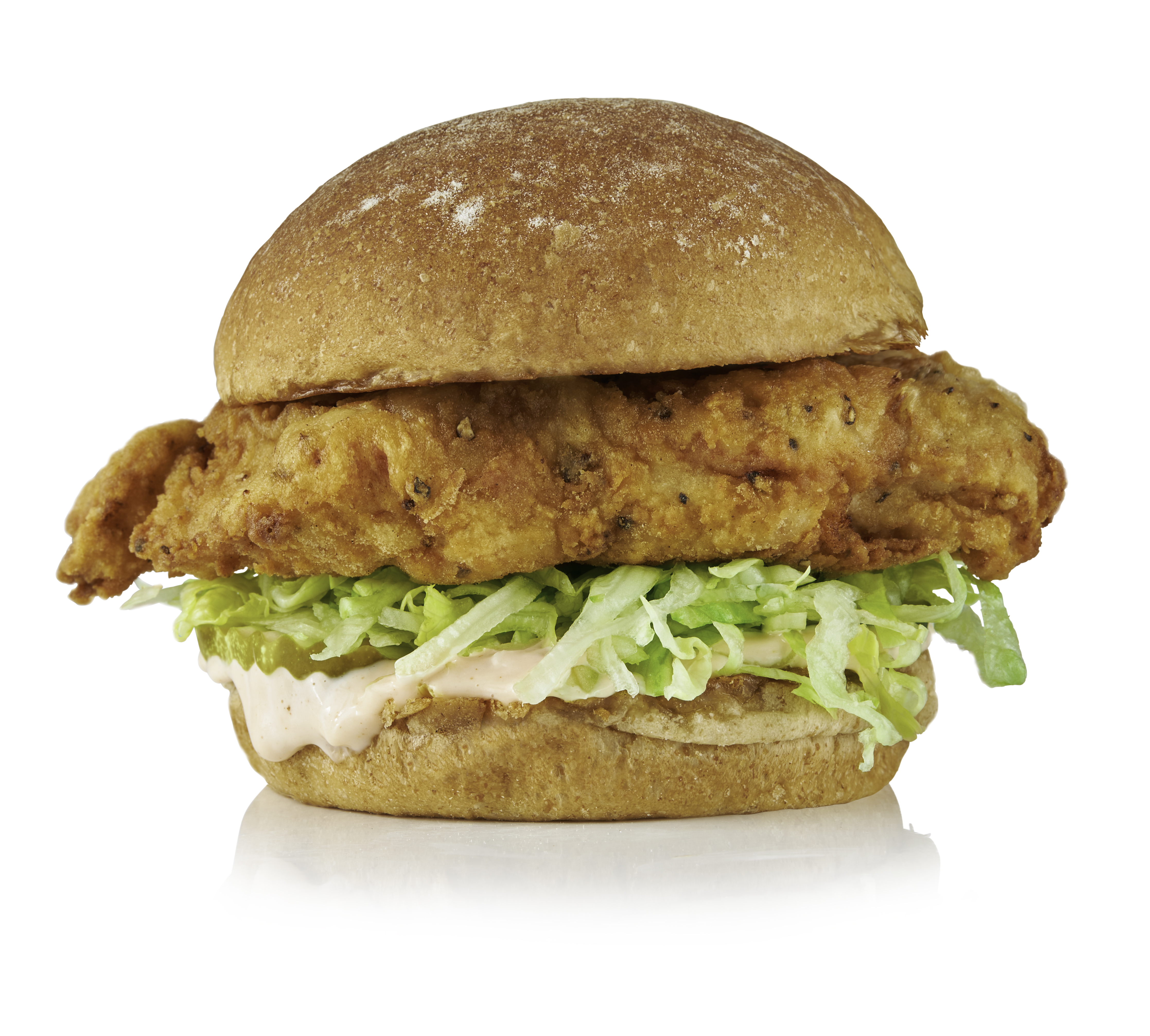 IK Crispy Chicken Sandwich