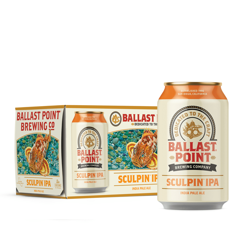 Ballast Point Sculpin' Sixer