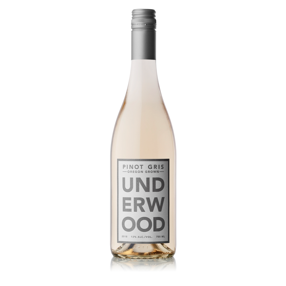 Underwood Pinot Gris 750ml. Bottle